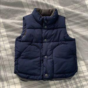 GAP Toddler Fleece Lined Vest
